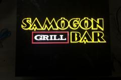 подсветка логотипа