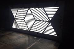 решепшн с подсветкой