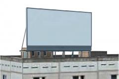 Крышные рекламные конструкции
