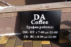 Табличка для кафе