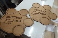 таблички из дерева