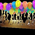 Изготовление хештегов на день рождения